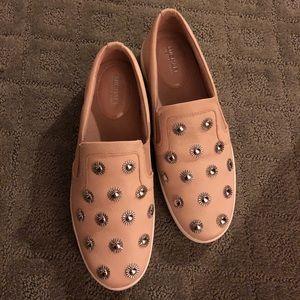 Shoes - Michael Kors Blush Pink slip ons